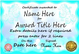 Editable Certificates - 2 - Primary Class.co.uk