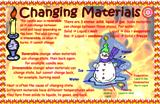Changing Materials Poster