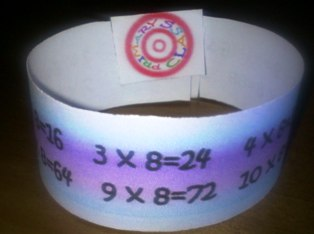 Multiplication Wristband
